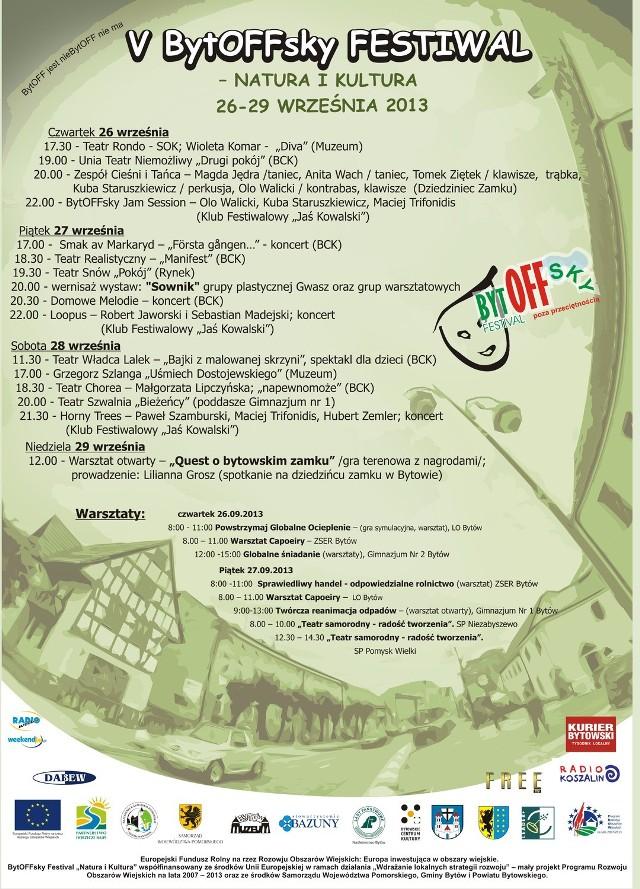 festiwal kojarzeń 2013