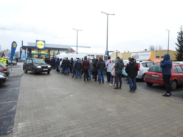 e0da5a5d08119a Białystok: Nowy Lidl już otwarty. Tłumy klientów na Białostoczku