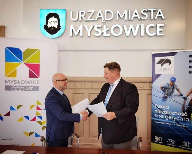 W Mysłowicach podpisano umowę na powstanie Klastra Energii Zielone Mysłowice
