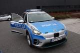 Elektryczny radiowóz już na służbie w skarżyskiej policji. To pierwszy taki pojazd [ZDJĘCIA]