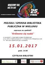 Miejska biblioteka i muzeum w Wieluniu też zagrają z WOŚP