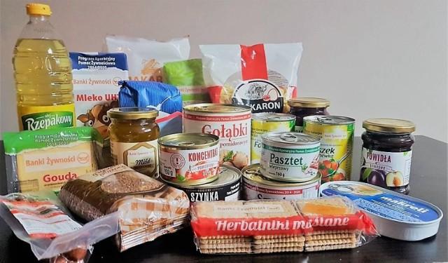 Takie produkty mogą się znaleźć w paczkach żywnościowych. Fot. ze strony banki żywności.pl