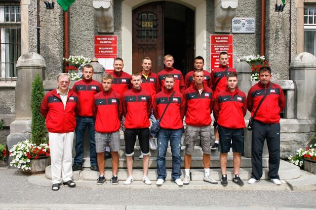 Kadra AZS PWSZ AS Wałbrzych na VIII Akademickie Mistrzostwa Europy w futsalu
