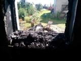 ŚMIGIEL. Pożar w domu jednorodzinnym. Spaliła się pralnia, ale ogień nie zdążył opanować reszty budynku [ZDJĘCIA]