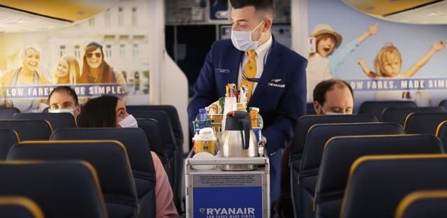 Na pokładzie samolotów linii Ryanair będą stosowane specjalne środki bezpieczeństwa.