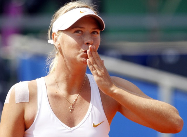 Piękna Maria Sharapova jest nie tylko świetną tenisistką, ale także gwiazdą showbiznesu