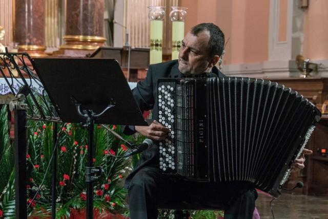 Jarosław Bester wystąpił w kościele na Morzysławiu