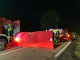 Wypadek na zakopiance. W Białym Dunajcu doszło do potrącenia pieszego