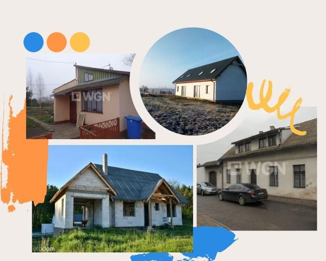 W galerii prezentujemy zdjęcia najtańszych domów w powiecie brodnickim wystawionych na sprzedaż w serwisie Otodom