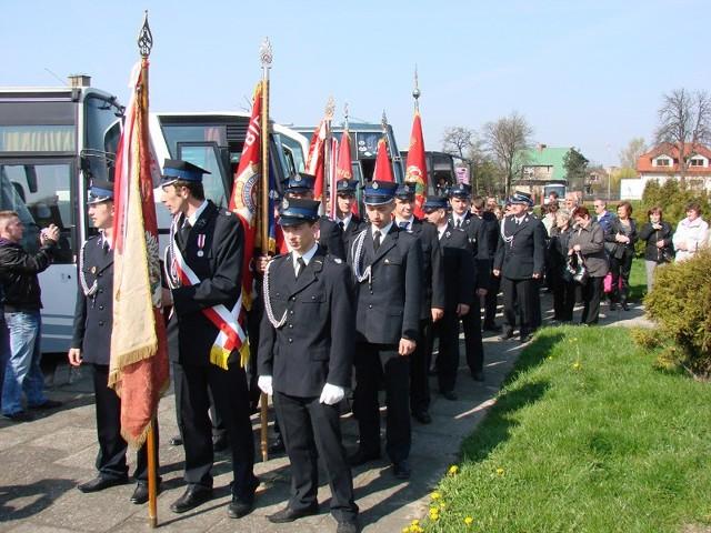 Sycowscy strażacy