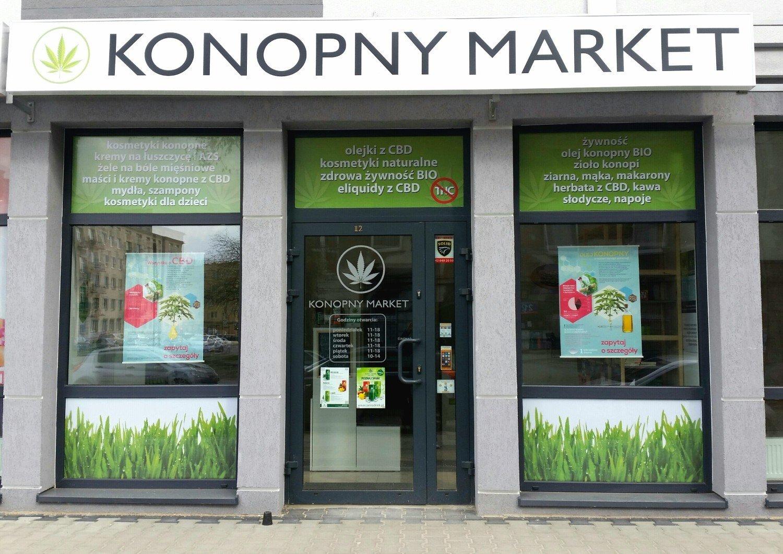 1be891b58 Market Konopny przy Zielonej w Łodzi. Co można tam kupić? [ZDJĘCIA ...