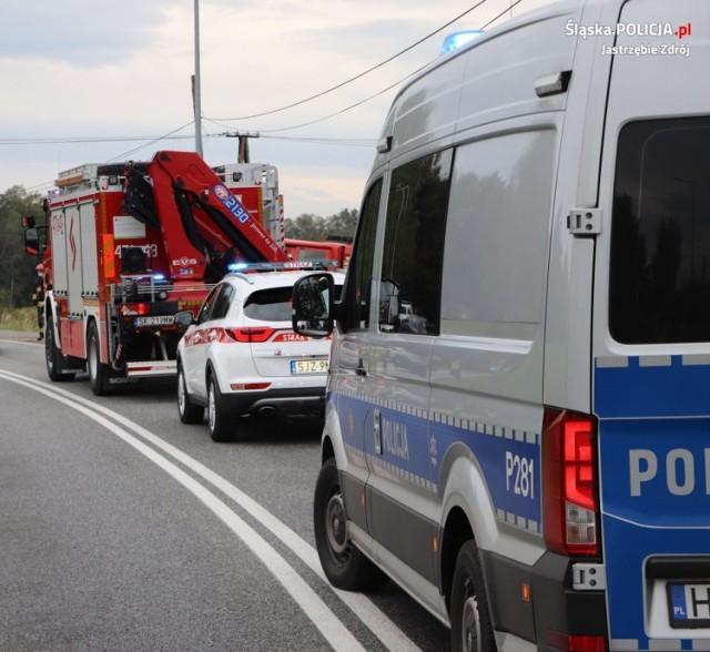 Na Powstańców Śl. osobówka zderzyła się z autobusem