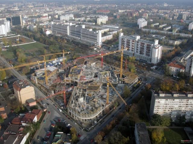 1 listopada 2009 , początki budowy Sky Tower