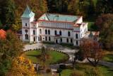 Park zamkowy w Przecławiu
