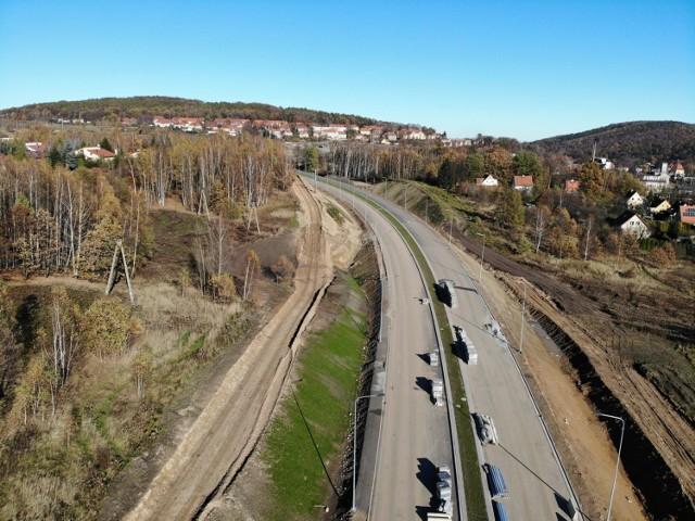 Budowa obwodnicy Wałbrzycha. Inwestycja ma być gotowa w czerwcu 2021 roku