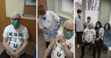 Lech Wałęsa zaszczepiony przeciw COVID-19 w grupie pierwszej! Pochwalił się na portalu społecznościowym zdjęciami z gdańskiej przychodni