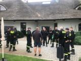 Strażacy z Nowego Tomyśla i Grodziska odbyli ćwiczenia w Hotelu REMES w Opalenicy
