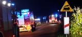 Ruch pociągów wstrzymany w okolicach Budzynia. Trwa akcja ewakuacyjna