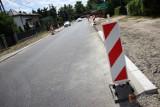 Będą utrudnienia na remontowanej drodze powiatowej Glinno-Włyń. Zostanie czasowo zamknięta (fot)