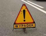 Gm. Trąbki Wielkie: Trzy pojazdy zderzyły się Kleszczewie. 37-latka z urazem głowy trafiła do szpitala