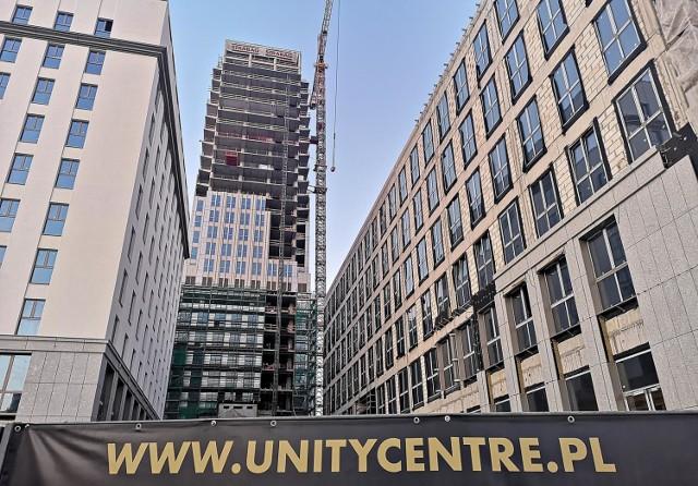 Szkieletor zamienia się w Unity Centre