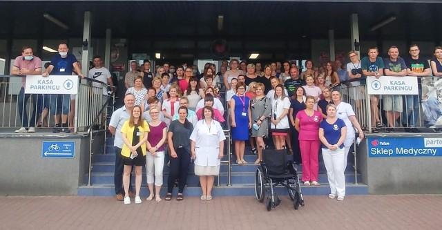 Pracownicy Szpitala Powiatowego w Chrzanowie