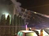 Pożar w Sosnowcu. Ogień wybuchł w mieszkaniu w Milowicach ZDJĘCIA