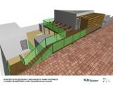 Chcą stworzyć basen i saunę zewnętrzną z tarasem na dachu w Chełmskim Parku Wodnym. Zobacz wizualizację