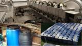 """Fabryka amfetaminy w Wawrze. Gang mógł zrobić tonę narkotyków. Znaleziono też broń i kamizelki """"Policja"""" [ZDJĘCIA]"""