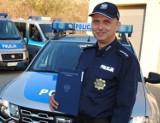 Radziejowski policjant wyróżniony za wzorową postawę [ZDJĘCIA]