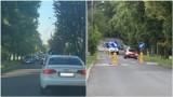 Tarnów. Mniej parkingów przy ul. Piłsudskiego. Miejsca postojowe i szykany powodowały korki na dojeździe do parku wodnego