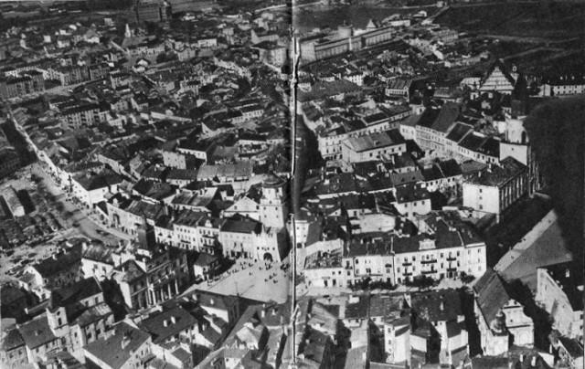 Lata 1932-1935 , Lotnicza panorama Lublina