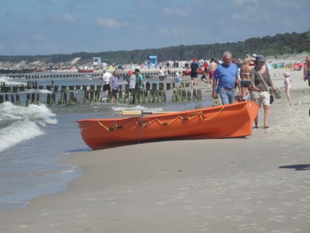 We wrześniu ubiegłego roku w Ustce plażowało sporo turystów
