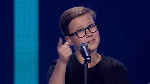 Antek Szydłowski w programie The Voice Kids