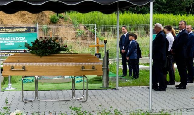 Pogrzeb Magdaleny Szyrszeń w Podgórkach Tynieckich