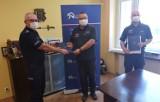 Był świadkiem wypadku w Suchej w gminie Lubiewo. Niezwłocznie udzielił pomocy