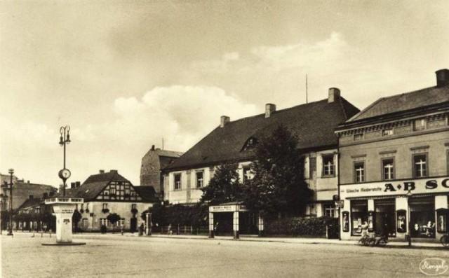 Nowa Sól - Neusalz sprzed II wojny światowej.