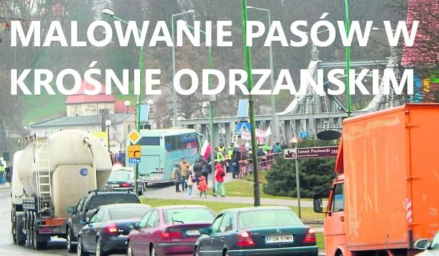 Korki dają się we znaki kierowcom, przejeżdżającym przez Krosno, gdy tylko coś dzieje się na drodze.