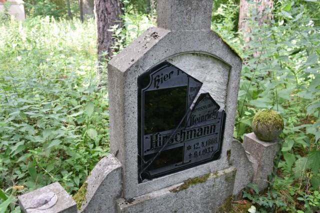 Ocalić od zapomnienia - cmentarz ewangelicki w Przychodzku gmina Zbąszyń - 19.07.2021