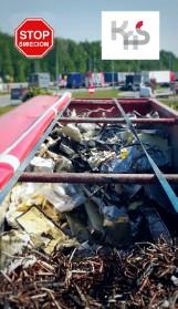 Nielegalne śmieci znów wjechały do Polski! Transport został zatrzymany! [ZDJĘCIA]