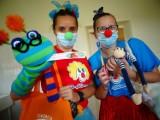 Dr Clown wrócił na oddziały dziecięce gliwickiego szpitala, co za radość!