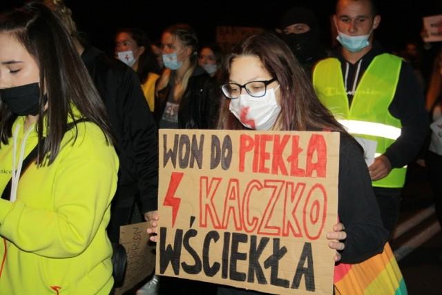 Strajk Kobiet w Grodkowie.