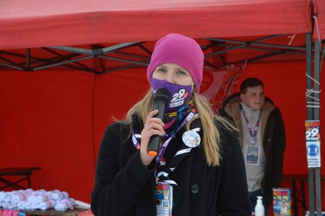 - Dziękujemy i gramy dalej! - mów Katarzyna Łasińska, zastępca szefa sztabu WOŚP w Bytowie.