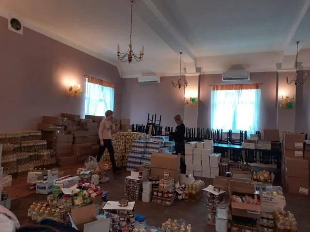 Zakończyła się akcja wydawania żywności w Bytnicy. OPS Bytnica planuje kolejną - we wrześniu.