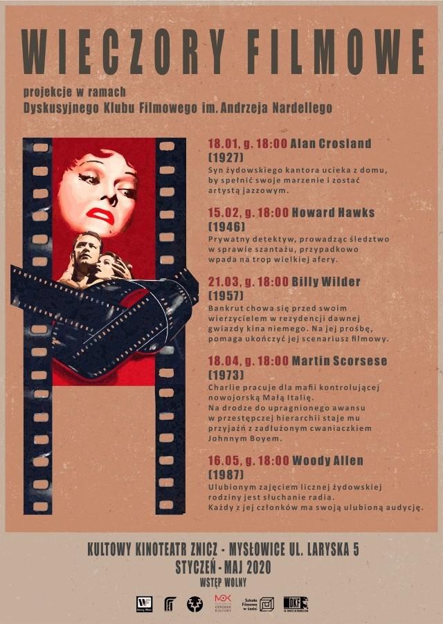 Wieczory filmowe powrócą do Mysłowic w 2020 roku