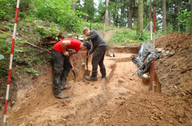 Na razie na górze Chełm prowadzono badania inwentaryzacyjne i ratunkowe
