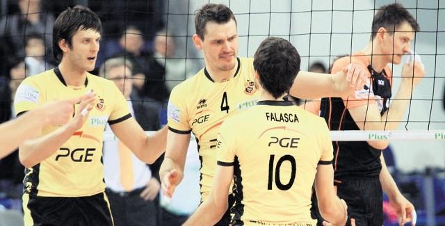 Michał Winiarski (od lewej), Daniel Pliński i Miguel Falasca będą mieć swoje tablice w Alei Gwiazd