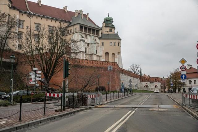 Na ulicach św. Idziego i Podzamcze zostanie wprowadzona strefa ograniczonego ruchu.