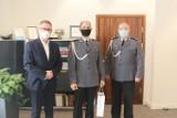 Policja Śrem: funkcjonariusz z Odznaką Honorową Ministra Zdrowia. Za co wyróżnienie?