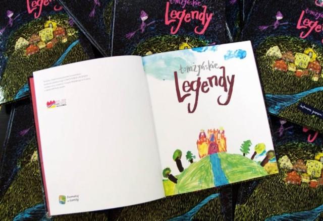 Łomżyńskie legendy zostały ponownie wydane w bardzo kolorowej i odświeżonej formie